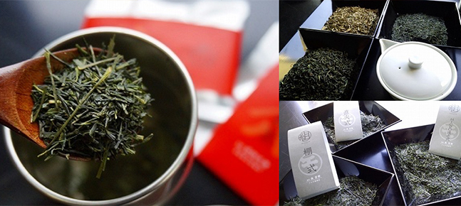 A new way to enjoy Japanese tea! Blend the tea leaves of tea masters yourself!