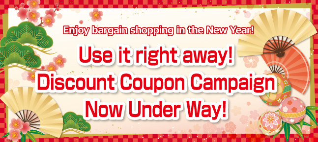 Use it right away! Discount Coupon Campaign
